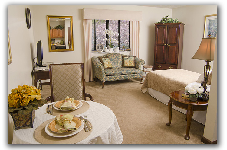 Photograph Of Lincoln Park Retirement Home Living Room Cleary Creative Photography