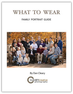 What to wear to your family portrait guide by Dan Cleary of Cleary Creative Photography in Dayton Ohio