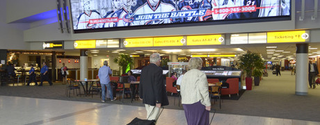 Columbus Airport for Clear Cchannel Airports