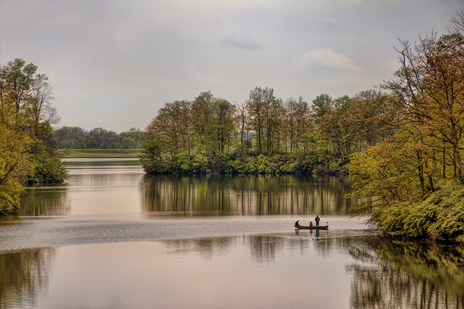 Arco Park lake by Dan Cleary of Cleary Creative Photography in Dayton Ohio