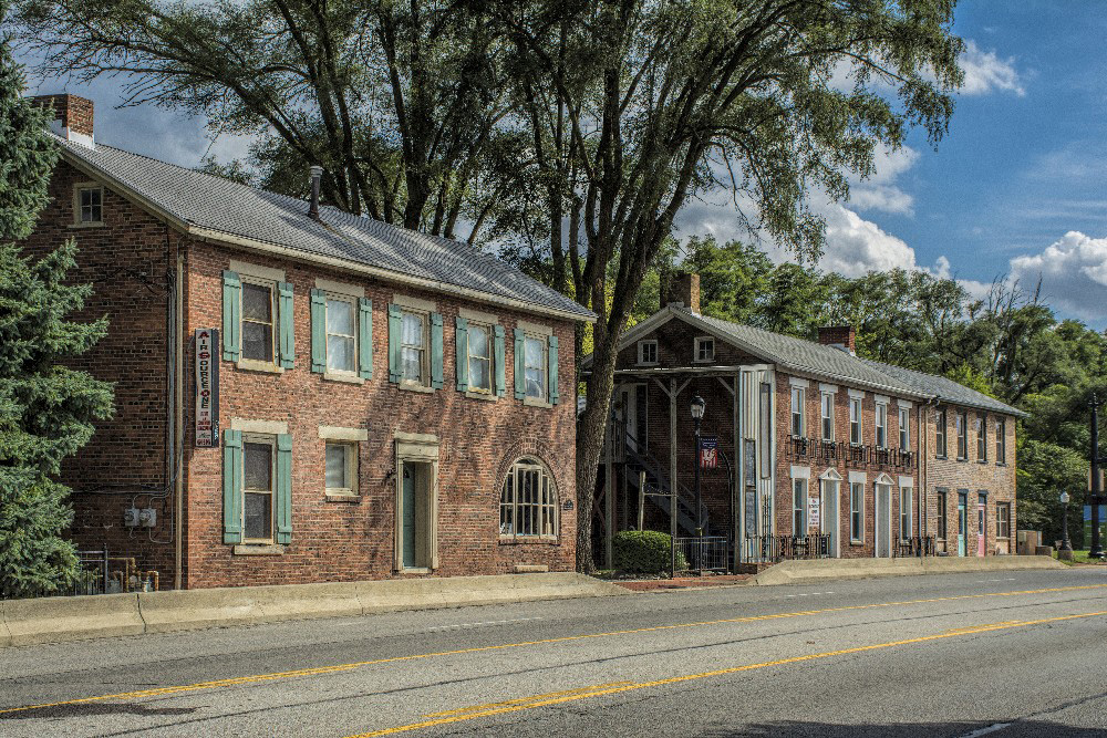Brick building Englewood Ohio by Dan Cleary of Cleary Creative Photography in Dayton Ohio