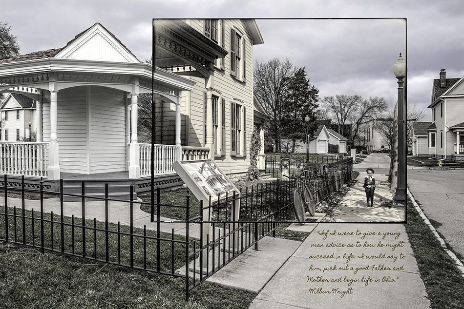 Wright Brothers, 7 Hawthorn Street by Dan Cleary of Cleary Creative Photography in Dayton Ohio