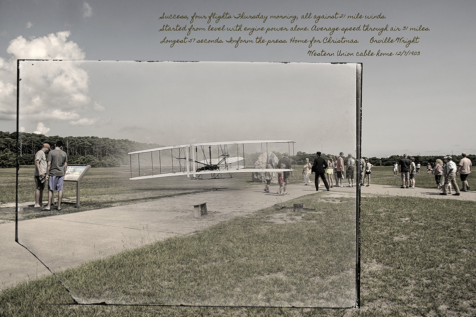 Wright Brothers First Flight by Dan Cleary of Cleary Creative Photography in Dayton Ohio