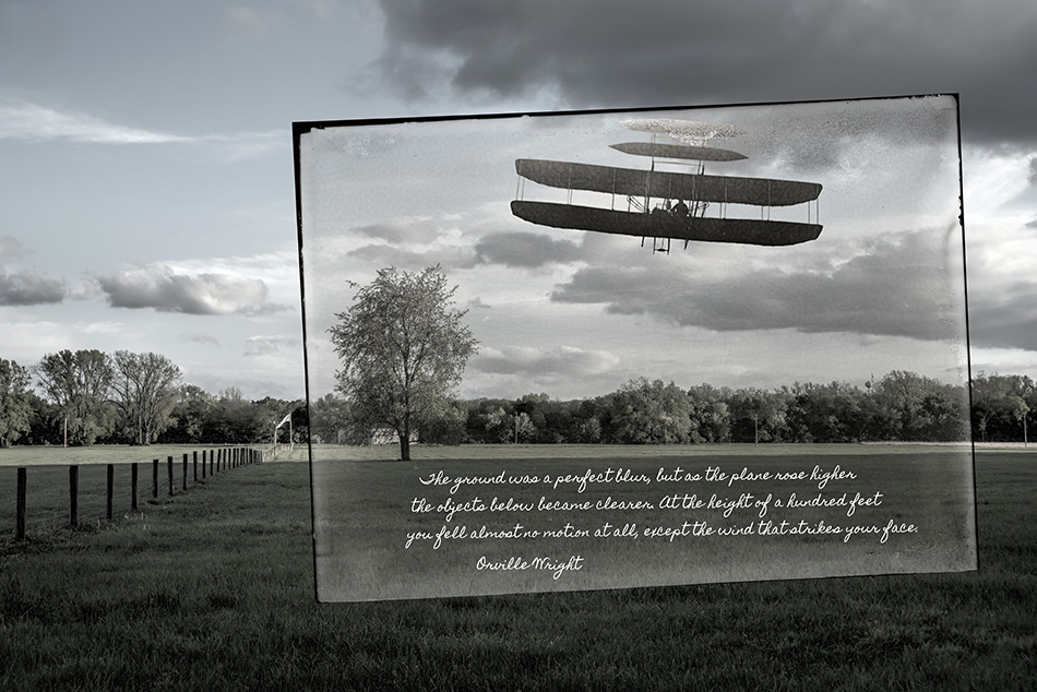 """Wright Brothers Flight #41 At Huffman Prairie"" By Dan Cleary"