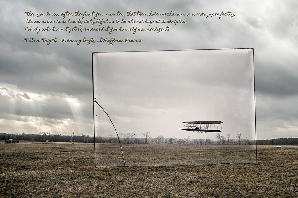 """Wright Brothers Flight #85 At Huffman Prairie"" By Dan Cleary"
