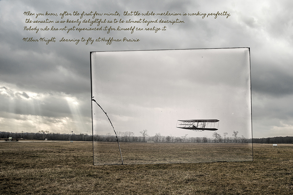 Wright Brothers Flight #85 by Dan Cleary of Cleary Creative Photography in Dayton Ohio