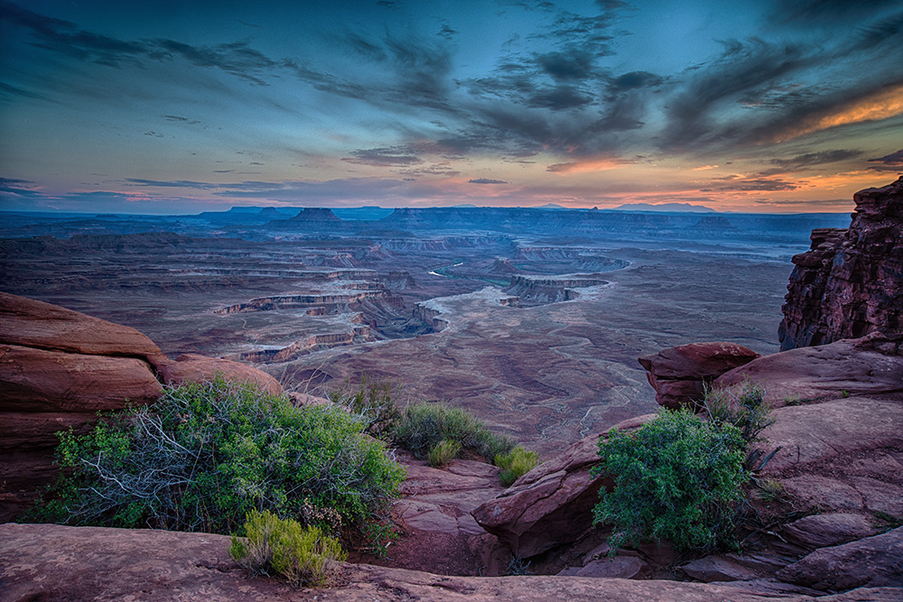 Sunset at Canyonland National Park Utah photograph by Dan Cleary of Cleary Creative Photography in Dayton Ohio