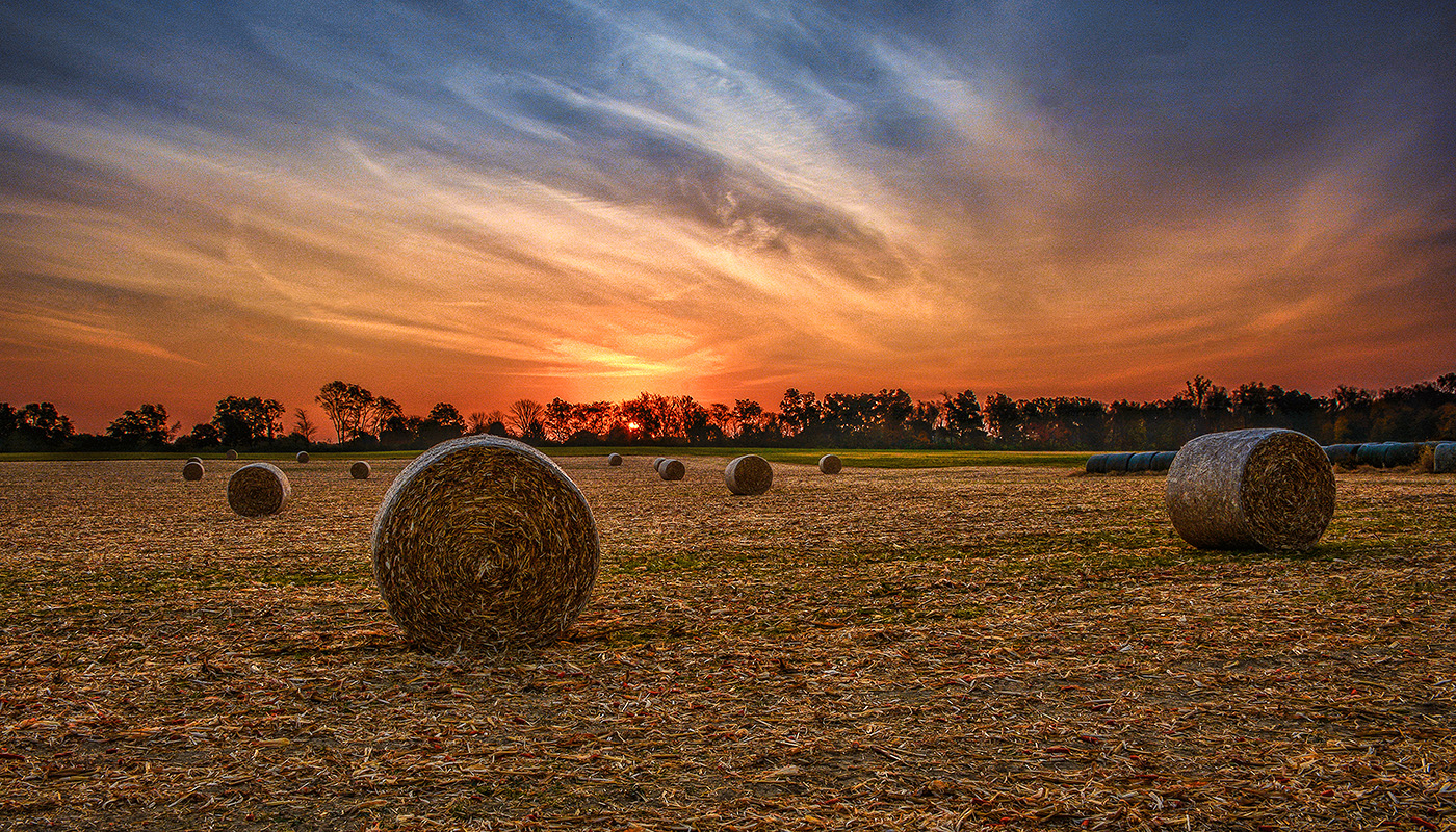 Sunrise In Miami County Ohio by Dan Cleary of Cleary Crative Photography